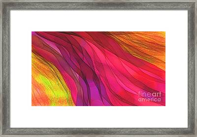 The Moving Garden Framed Print by Hilda Lechuga