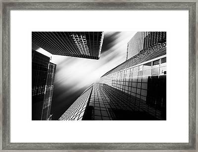 The Moving Sky  Framed Print