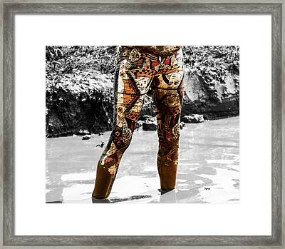 The Mud Hatter  Framed Print by Steven Digman