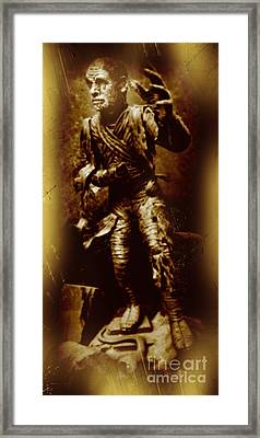 The Mummy Document Framed Print by John Malone