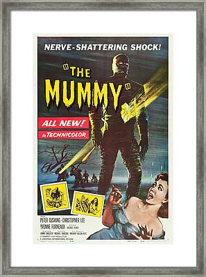 The Mummy Framed Print by MMG Archives