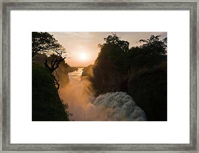 The Murchison Falls Of The River Nile Framed Print