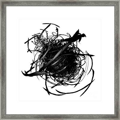 The Murder Of Crows By Jammer Framed Print by First Star Art