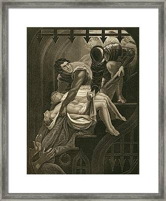 The Murder Of The Two Princes Framed Print