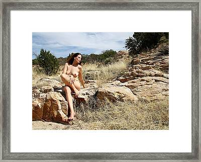 The Muse Framed Print by Joe Kozlowski