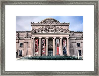 The Museum Framed Print by JC Findley