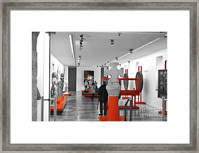 The Museum Framed Print by Viesel