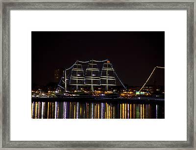 The Mushulu At Night Framed Print