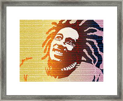 The Music Lives On Framed Print