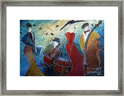The Music Never Stopped 2 Framed Print