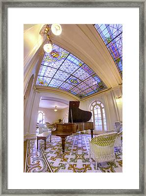 The Music Room At The Fordyce Bathhouse - Hot Springs - Arkansas Framed Print by Jason Politte