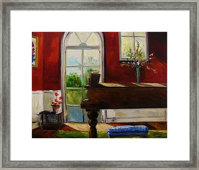 The Music Room Framed Print