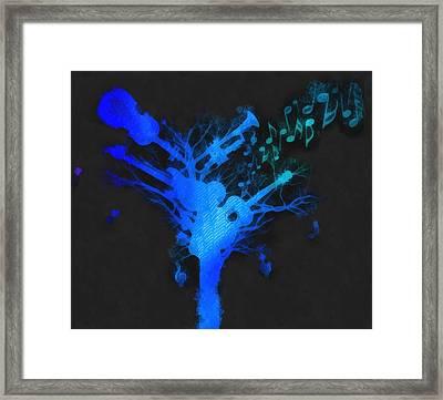The Music Tree Framed Print
