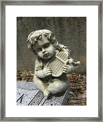The Musician 01 Framed Print by Peter Piatt