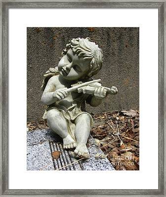 The Musician 03 Framed Print by Peter Piatt