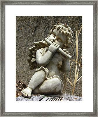 The Musician 05 Framed Print by Peter Piatt