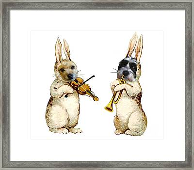 The Musicians Framed Print by Alexandra  Sanders