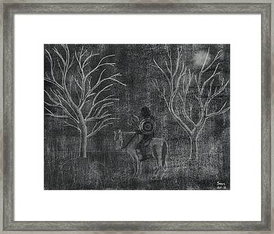 The Myrtles Framed Print by Sean Mitchell