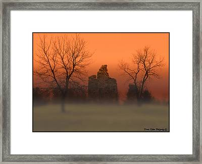 The Myst Framed Print
