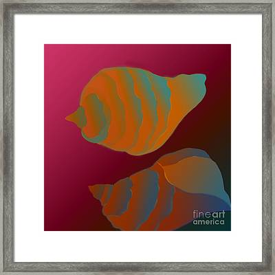 Framed Print featuring the digital art The Mysterious World by Latha Gokuldas Panicker