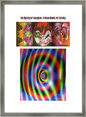 The Mystery Of Conception An Amulet For Fertility Framed Print