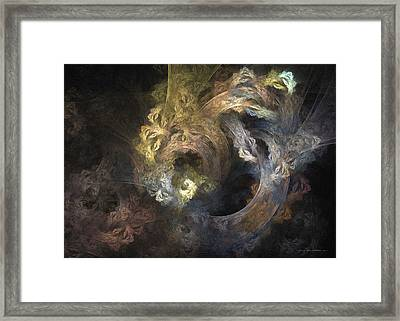 The Mystical Garden - Surrealism Framed Print