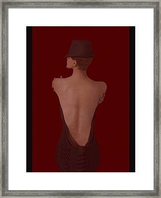 Ultimate Sensual Elegance #3  Framed Print by Renee Anderson