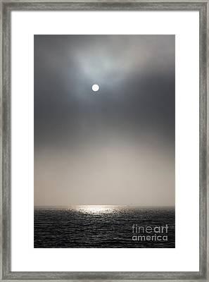 The Naked Sun Framed Print