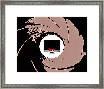 The Names Mac... Imac Framed Print by ISAW Gallery