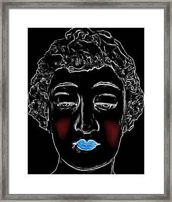 The Nanny Man Ray Homage Framed Print by Brian King