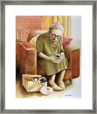 The Nanny Framed Print by Shelly Wilkerson