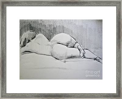 The Nap Framed Print by Rory Sagner