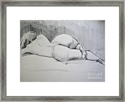 The Nap Framed Print