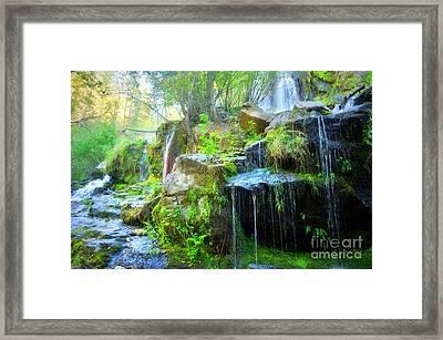 The Naramata Falls  Framed Print by Tara Turner