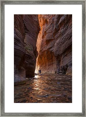 The Narrows 4 Framed Print