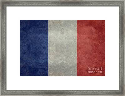 The National Flag Of France Framed Print