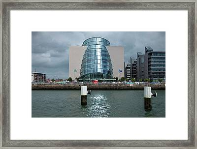 The National Irish Conference Centre Framed Print by Panoramic Images