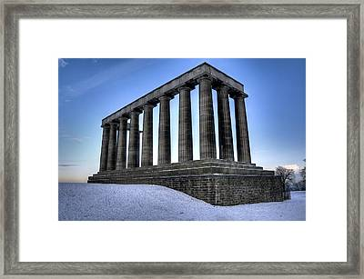 The National Monument Framed Print