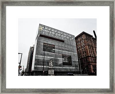 The National Museum Of American Jewish History Framed Print by Bill Cannon