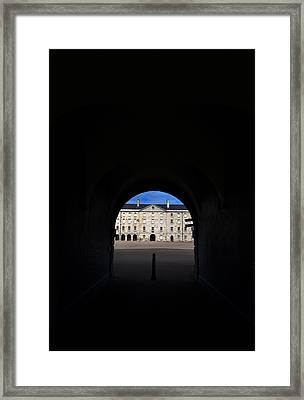 The National Museum Of Ireland, Archway Framed Print by Panoramic Images