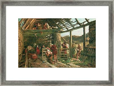 The Nativity, 1872 Framed Print by William Bell Scott