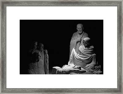 The Nativity Framed Print by David Ricketts