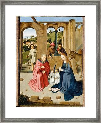 The Nativity Framed Print