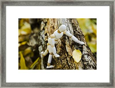 The Nature Lover Framed Print
