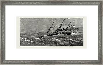 The Naval Manoeuvres Framed Print by Litz Collection
