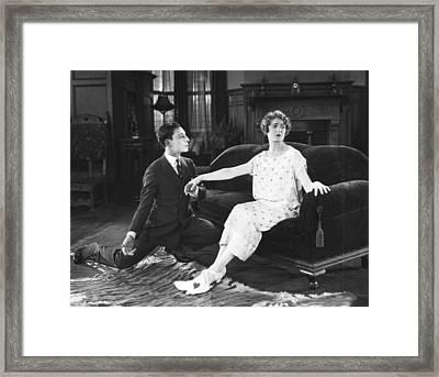 The Navigator, From Left Buster Keaton Framed Print by Everett