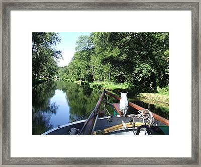 The Navigator Framed Print