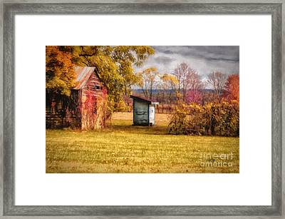 The Necessary Framed Print by Lois Bryan
