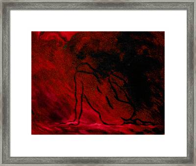 The Need Of Charging Framed Print