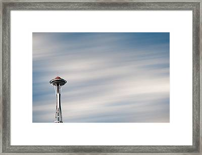 Framed Print featuring the photograph The Needle by Brian Bonham